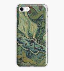Vincent Van Gogh - Giant Peacock Moth, 1889 iPhone Case/Skin