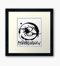 Severed Scissors Logo Framed Print