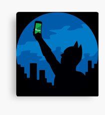 Bat-Signal? Canvas Print