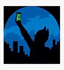 Bat-Signal? Photographic Print