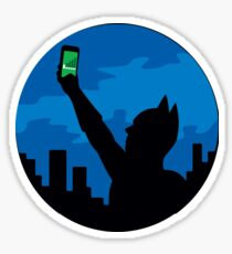 Bat-Signal? Sticker