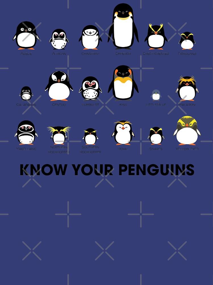 Conoce a tus pingüinos de PepomintNarwhal