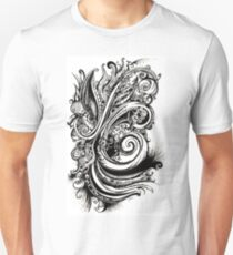 Eyes on You, Ink Drawing Unisex T-Shirt