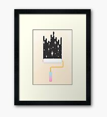 I Show You the Stars Framed Print