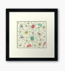 Atomic 50s Framed Print