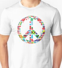 World Peace Love Unisex T-Shirt