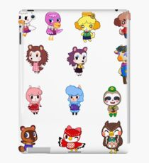 Animal Crossing- NPCS sheet iPad Case/Skin