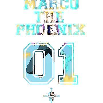 Marco The Phoenix  by Azukiyo