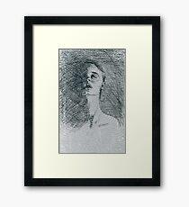 Voice. Framed Print