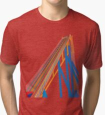 Roller Coaster Tri-blend T-Shirt