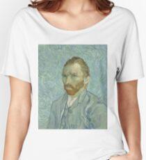 Vincent Van Gogh - Self-Portrait 2, 1889 Women's Relaxed Fit T-Shirt