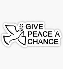 Beatles Hippie Peace Sticker