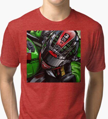 Sykes #66 Tri-blend T-Shirt