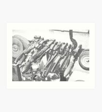 Need a wrench? Art Print