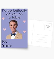 Bill Nye the Science Guy Valentine Card Postcards