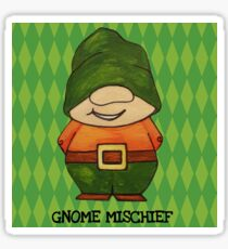 Gnome Mischief (Sneaky3) Sticker