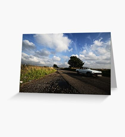 MG Driveby Greeting Card