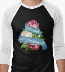 Uteruses Before Duderuses Men's Baseball ¾ T-Shirt