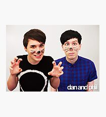 Dan & Phil/danisnotonfire & AmazingPhil Photographic Print