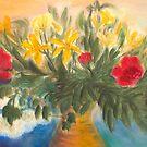 Großer Blumen-Blumenstrauß von Jens-Uwe Friedrich