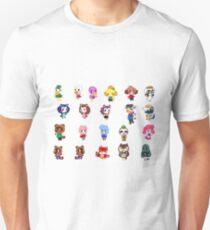Animal Crossing- NPCS sheet Unisex T-Shirt