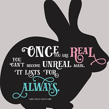 Velveteen Rabbit quote  by brilliantblue