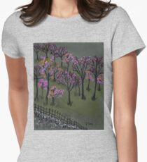 blossoms Women's Fitted T-Shirt