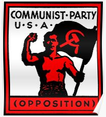 Communist Party USA Poster