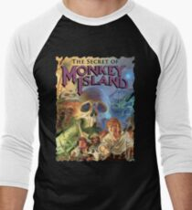 Monkey Island Men's Baseball ¾ T-Shirt