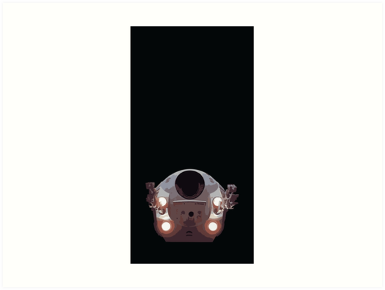 2001: A Space Odyssey - The Only Hero by bckstry