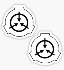 SCP Logo- Pack of 2 stickers Sticker