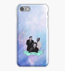 The X Files Space Dorks iPhone Case/Skin