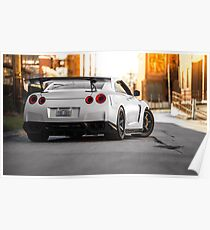 Nissan GTR  Poster