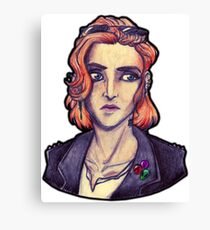 Punk!Scully Canvas Print