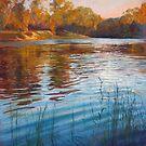 'Evening Reflections' - Goulburn River by Lynda Robinson
