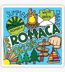 Camp Romaca Collage Sticker