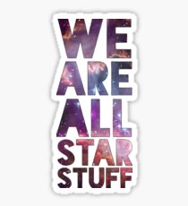 We Are All Starstuff Sticker