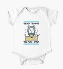 Send Temmie To College! One Piece - Short Sleeve