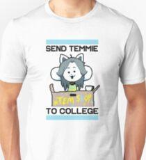 Send Temmie To College! Unisex T-Shirt