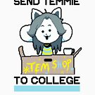 Send Temmie To College! by HouseOfHomies