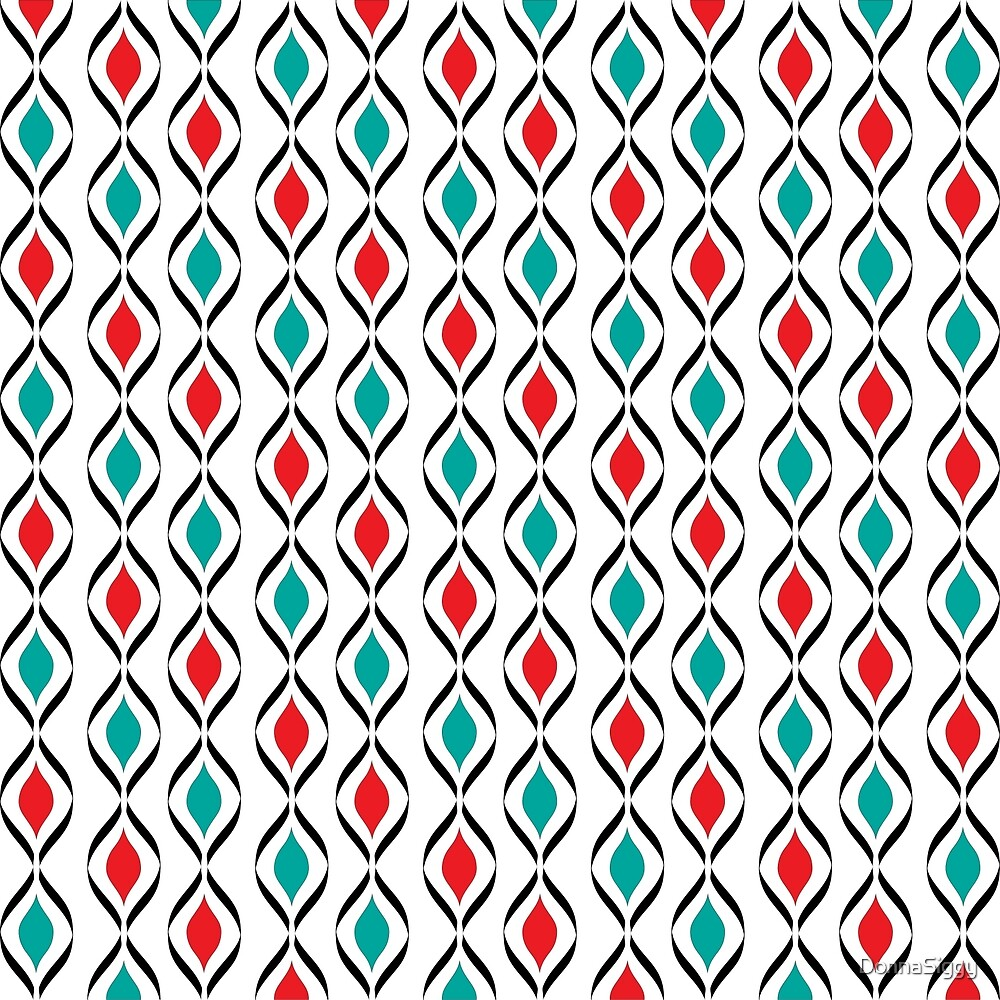 Retro Fun Pattern by DonnaSiggy