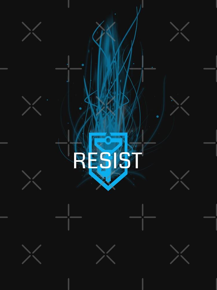 Ingress Resist portal by mstrlargo