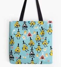 Bill Cipher + Eggs Tote Bag