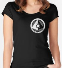 Office of Naval Intelligence (White) Women's Fitted Scoop T-Shirt
