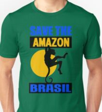 SAVE THE AMAZON Unisex T-Shirt