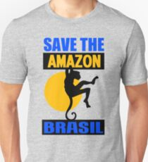 SAVE THE AMAZON Unisex T-Shirt