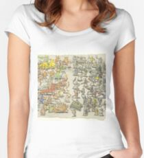 Dance Gavin Dance Instant Gratification Album Cover Women's Fitted Scoop T-Shirt