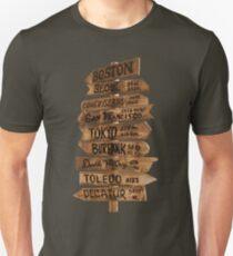 Signpost Korea T-Shirt