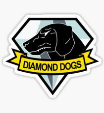 Metal Gear Solid - Diamond Dogs Insignia Sticker