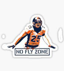 No Fly Zone Sticker